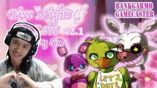 """จีบทอยชิกะ! น่ารักสดใส แต่ข้างในแอบ..ยัน ;w;"""":-Five Nights Of Love v2.1-FNAF DATING SIM GAME #2"""