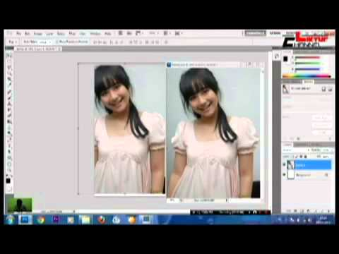 Tutorial Photoshop CS5 Bahasa Indonesia Membuat Foto Efek Pensil Colored PART 1   YouTube
