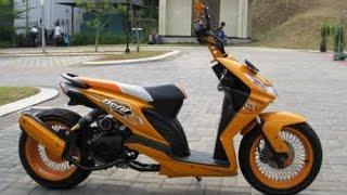 getlinkyoutube.com-Motor Trend Modifikasi | Video Modifikasi Motor Honda Beat Hot Road Chooper Terbaru
