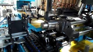 getlinkyoutube.com-Muffler Rolling and Spot Welding Machine(Hanwoo)