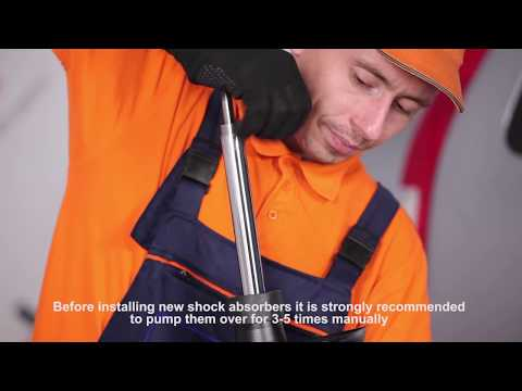 How to replace front shock absorbers on HONDA CR-V 2 TUTORIAL | AUTODOC
