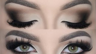 getlinkyoutube.com-♡ Matte Brown Smokey Eye ♡ Make Up Tutorial | Melissa Samways