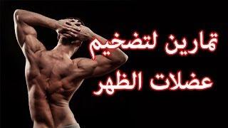 getlinkyoutube.com-اقوى تمرين ظهر لتضخيم عضلات الظهر