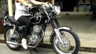 getlinkyoutube.com-SR400 easy start girl ช่างโรจน์-03
