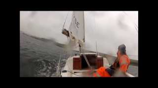 getlinkyoutube.com-Hunter Europa 19 Sailing, Shetland