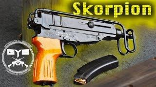 """getlinkyoutube.com-CZ """"Skorpion"""" VZ-61 Full Review- FULL AUTO"""