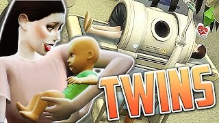 getlinkyoutube.com-TWIN BIRTH DELIVERY! - Let's Play: The Sims 4 Maleficent (Part 7)