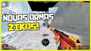 getlinkyoutube.com-Blood Strike - NOVAS ARMAS BOLADAS!!