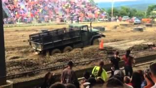 getlinkyoutube.com-Deuce and a half  Mud Bogs