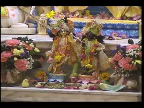 2014-04-15 Morning kirtan and class at the Alachua Hare Krishna Temple