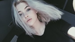 HOW TO GET WHITE HAIR AT HOME | okaysage
