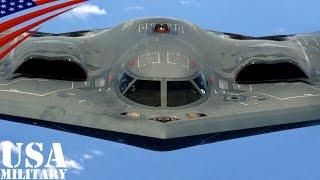 getlinkyoutube.com-B-2スピリット ステルス爆撃機・アメリカ空軍 - B-2 Spirit Stealth Bomber