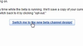 How to get youtube beta layout