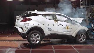 2017 Toyota C-HR - Crash Test