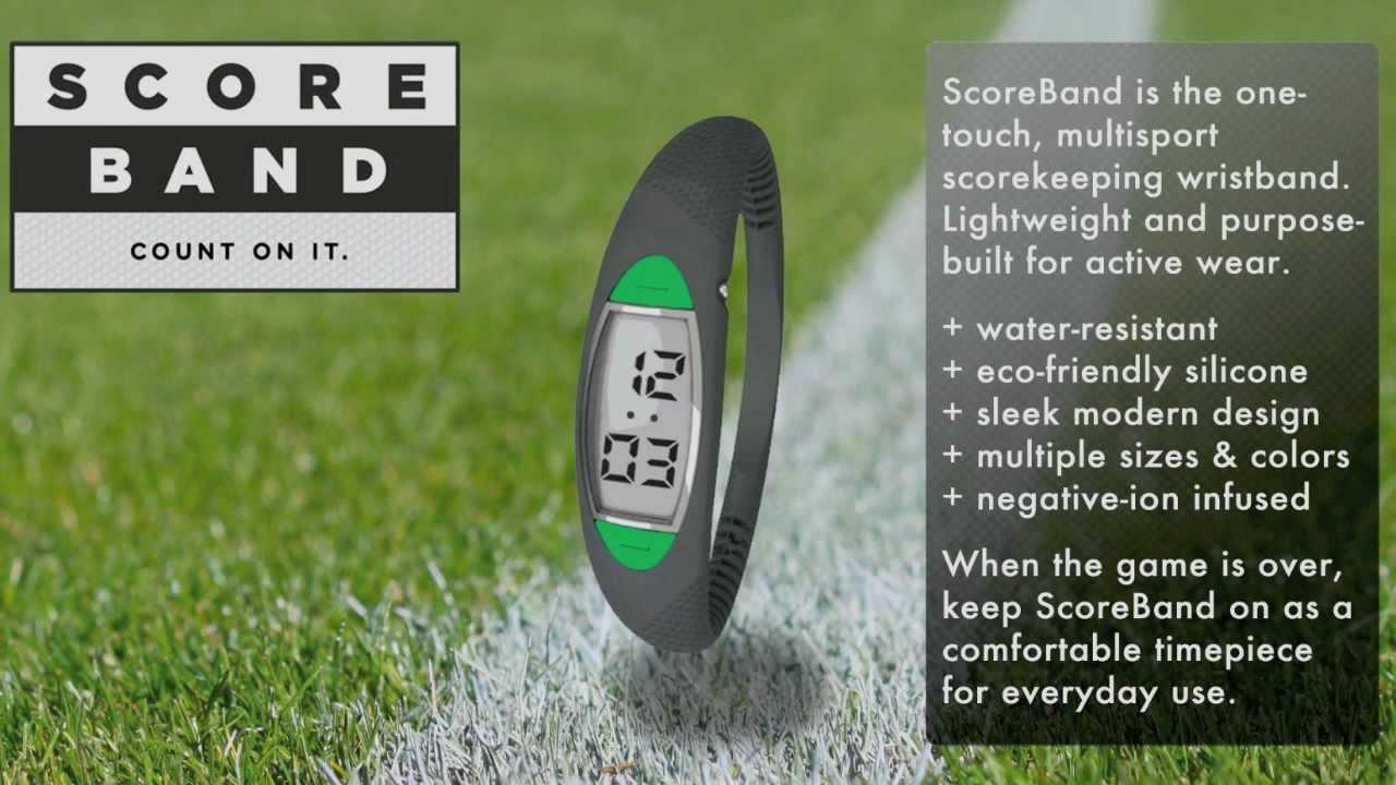 Håll reda på scoren med ScoreBand -Michael Broström