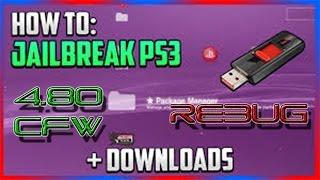 getlinkyoutube.com-HOW TO JAILBREAK A PS3 - 4.80 CFW REBUG !!!!