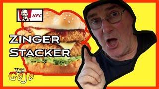 getlinkyoutube.com-KFC Zinger Stacker Taste Test & Drive Thru Review + Shoutouts