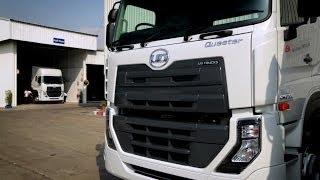 getlinkyoutube.com-UD Trucks - Delivering the world's first Quester