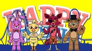 getlinkyoutube.com-Happy Wheels: Freddy's Roller Coaster - Part 200!!!!