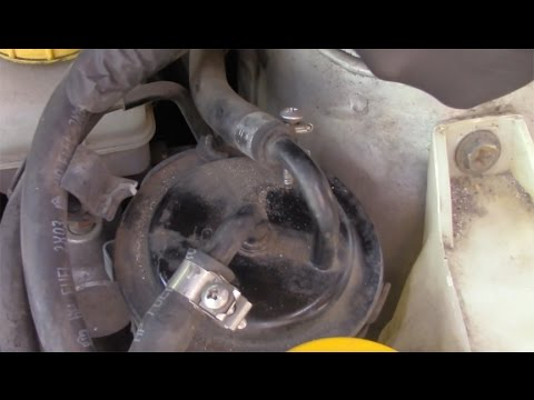 How to change your Fuel Filter on your Subaru