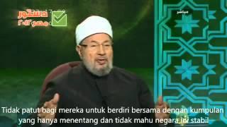 getlinkyoutube.com-WAJAH SEBENAR ANWAR IBRAHIM DI BELAKANG DR YUSUF QARADAWI!!!
