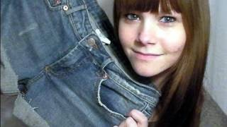 getlinkyoutube.com-DIY: Turning Old Jeans into Denim Shorts