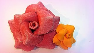 getlinkyoutube.com-Tutorial: Flores de goma eva (foami).