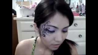 getlinkyoutube.com-Maquillaje para Hada y Gato