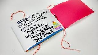 getlinkyoutube.com-Paper Quilling Best Birthday Card Ever by Artist Archana