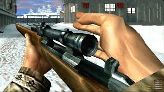 getlinkyoutube.com-Medal of Honor Allied Assault Sniper Mission Gameplay