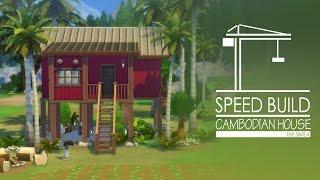 getlinkyoutube.com-The Sims 4 Speed Build - Cambodian House