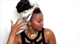 getlinkyoutube.com-UPDO REALNESS?! | Crochet Braids and a Scarf... IDK, JUST WATCH