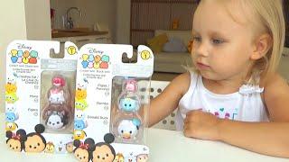 getlinkyoutube.com-Фигурки сюрпризы Тсум Тсум Дисней для детей TSUM TSUM Disney surprise for children