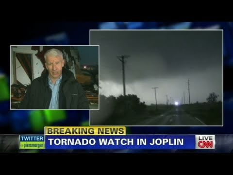 CNN: Anderson Cooper on Joplin destruction