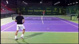 getlinkyoutube.com-Federer Training