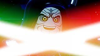 getlinkyoutube.com-LEGO Darth Vader & Luke Skywalker Vs Darth Sidious BOSS Fight Battle (Star Wars The Force Awakens)
