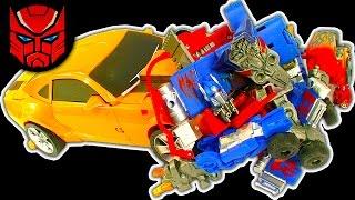 getlinkyoutube.com-Transformers Dark Side Knock Off Toys Ep 2 & 3 TNT Optimus Prime