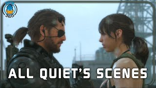 getlinkyoutube.com-Metal Gear Solid V The Phantom Pain: All Quiet's Scenes + Ending(PS4/1080p)
