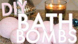 getlinkyoutube.com-DIY BATH BOMBS RECIPE - LUSH Inspired | HOMEMADE AROMATHERAPY