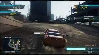 getlinkyoutube.com-Need For Speed Most Wanted 2012   Nissan Skyline GTR R34   Smash n Grab Gameplay