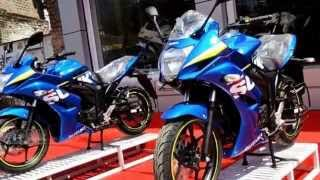 getlinkyoutube.com-Suzuki Gixxer SF 150 Special MotoGP Edition_Glimpse | Torque - The Automobile Show