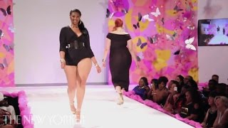 getlinkyoutube.com-On the Runway at Full Figured Fashion Week - Commentary - The New Yorker
