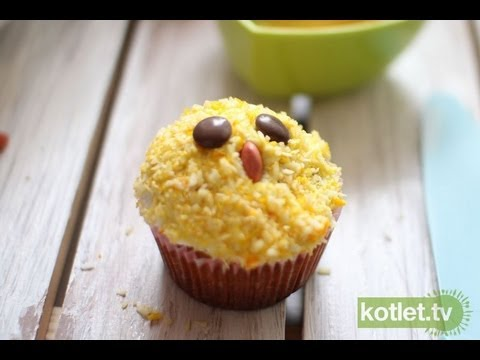 Cupcake kurczaczek wielkanocny - Kotlet.TV