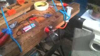 getlinkyoutube.com-Cox tee dee .020 vintage glow engine
