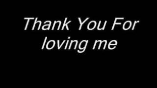 getlinkyoutube.com-Bon Jovi - Thank You For Loving Me (Lyrics)