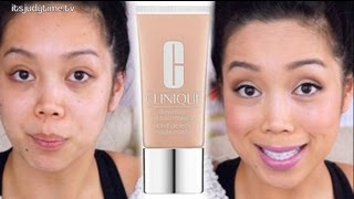 getlinkyoutube.com-OILY SKIN? Clinique Stay Matte Foundation first impression review - itsjudytime