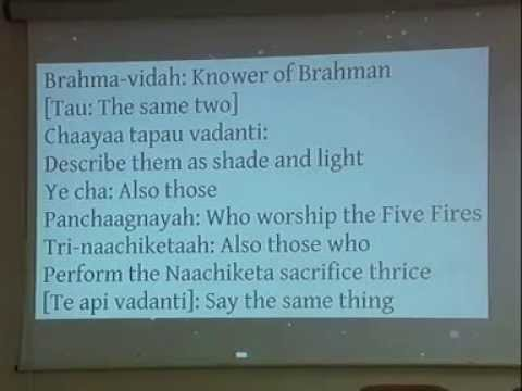 Katha Upanishad Death with a Difference Narasimhananda 37