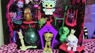 getlinkyoutube.com-MONSTER HIGH SECRET CREEPERS CRITTERS REVIEW VIDEO!!!