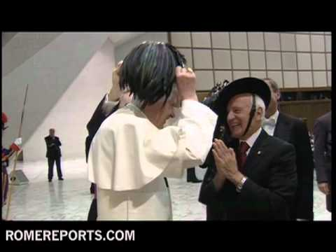 Pope Gets a New Hat