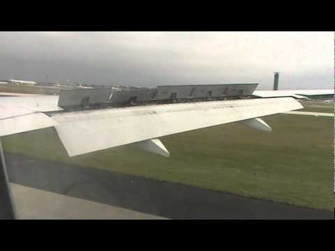 Air France Boeing 777-300ER landing at Charles de Gaulle Intl. Airport (CDG)